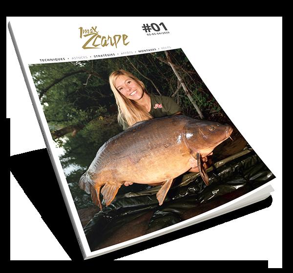 Magazine 1max2carpe gratuit pour la pêche de la carpe
